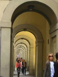 Corridor by Ponte Vecchio