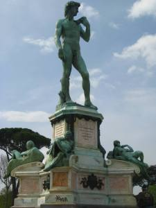 Replica of the David at Piazzale Michelangelo