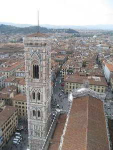 Giotto's tower and Firenza from the dome