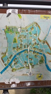 Map of old town Pisa
