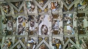 Ceiling of the Sistine Chapel and Michelangelo's Creation of Man
