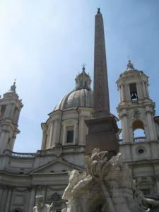 Fontana dei Quattro Fiumi and Sant'Agnese in Agone