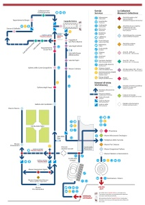 Museo Vaticani Map